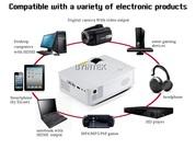 портативный проектор для презентаций,  дома,  офиса,  школ